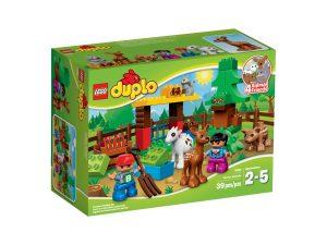 lego 10582 skog djur