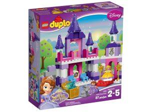 lego 10595 sofia den forsta kungliga slottet