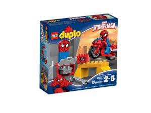 lego 10607 spindelmannens cykelverkstad