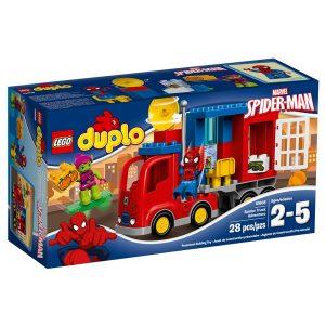 lego 10608 spindelmannens spindeltruckaventyr