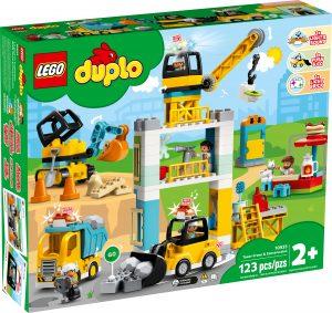 lego 10933 lyftkran och byggnadsarbete