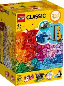 lego 11011 klossar och djur