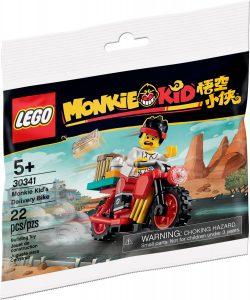 lego 30341 monkie kids budcykel