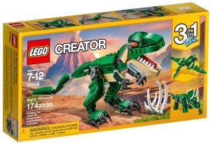 lego 31058 maktiga dinosaurier