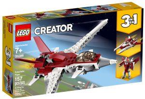 lego 31086 futuristiskt flygplan