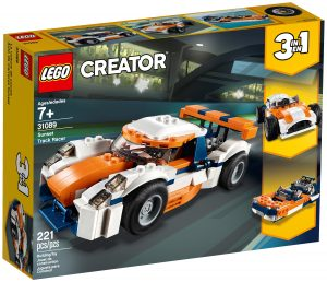 lego 31089 orange racerbil