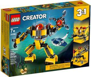 lego 31090 undervattensrobot