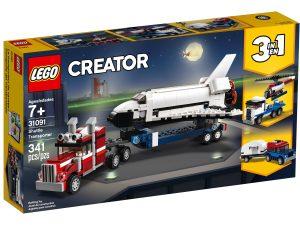 lego 31091 transport for rymdfarja