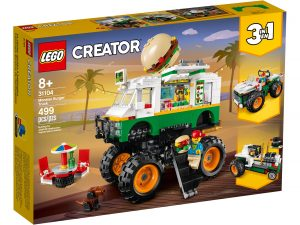 lego 31104 hamburgermonstertruck