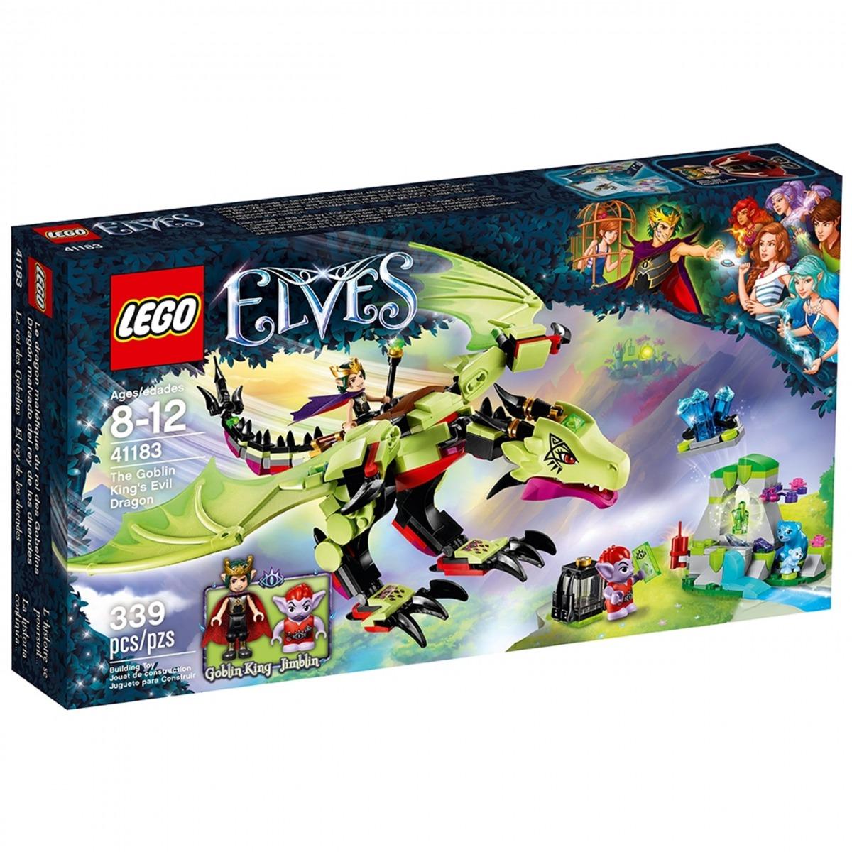 lego 41183 trollkungens onda drake scaled