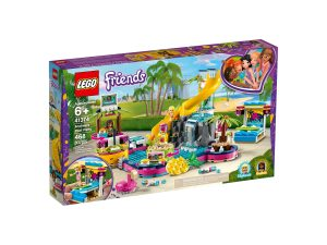 lego 41374 andreas poolparty