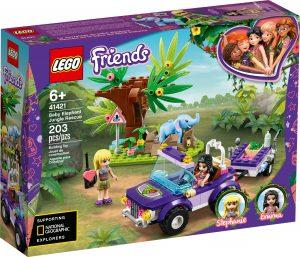 lego 41421 djungelraddning med elefantunge
