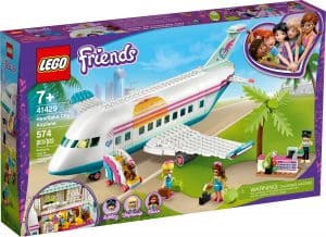 lego 41429 heartlake citys flygplan