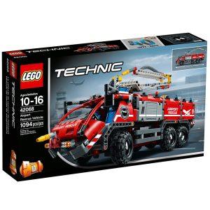 lego 42068 flygplatsbrandbil