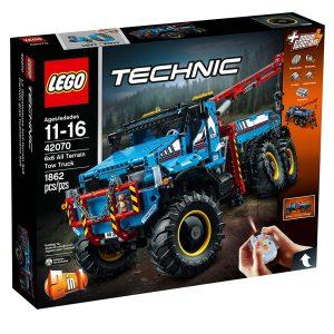 lego 42070 terranggaende 6x6 bargningsbil