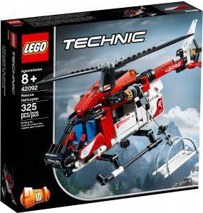 lego 42092 raddningshelikopter