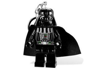 lego 5001159 star wars nyckelring med darth vader och lampa