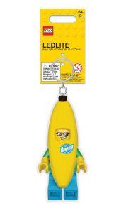 lego 5005706 nyckelring med banankille och lampa