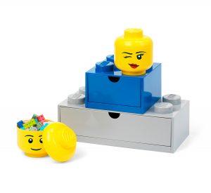 lego 5006211 forvaringshuvud i ministorlek flortig