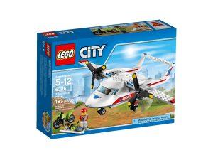 lego 60116 ambulansflygplan