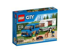 lego 60117 skapbil och husvagn
