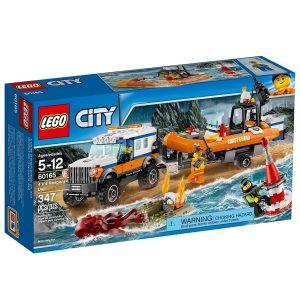 lego 60165 fyrhjulsdrivet utryckningsfordon