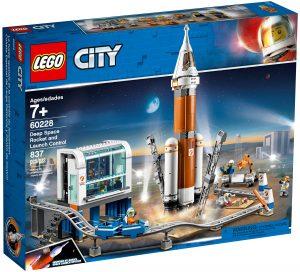 lego 60228 rymdraket och uppskjutningskontroll