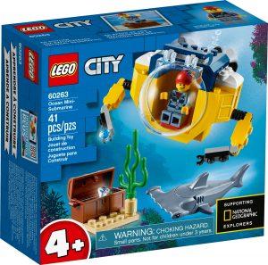 lego 60263 hav miniubat