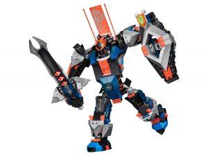 lego 70326 svart riddarrobot