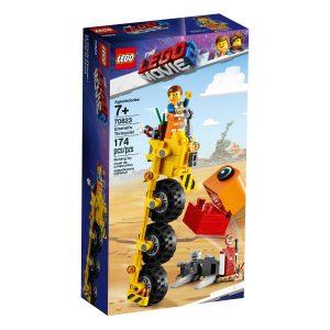 lego 70823 emmets trehjuling