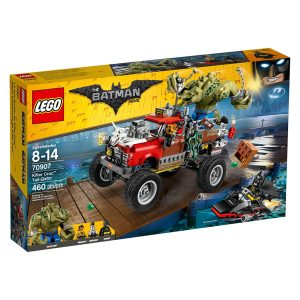 lego 70907 killer croc tail gator