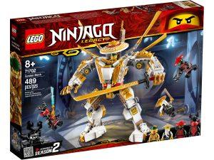 lego 71702 gyllene robot