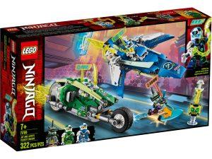 lego 71709 jay och lloyds racerfordon