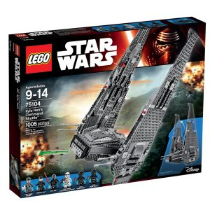 lego 75104 kylo rens command shuttle