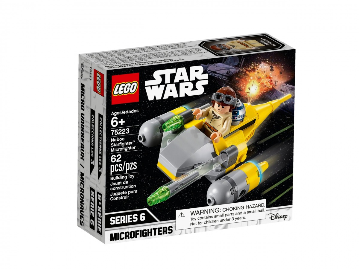 lego 75223 naboo starfighter microfighter scaled