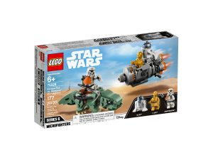 lego 75228 escape pod vs dewback microfighters