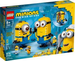 lego 75551 klossbyggda minioner och deras tillhall