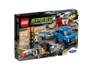 lego 75875 ford f 150 raptor och ford model a hotrod