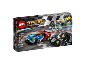 lego 75881 2016 ford gt och 1966 ford gt40