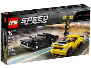 lego 75893 2018 dodge challenger srt demon och 1970 dodge charger r t