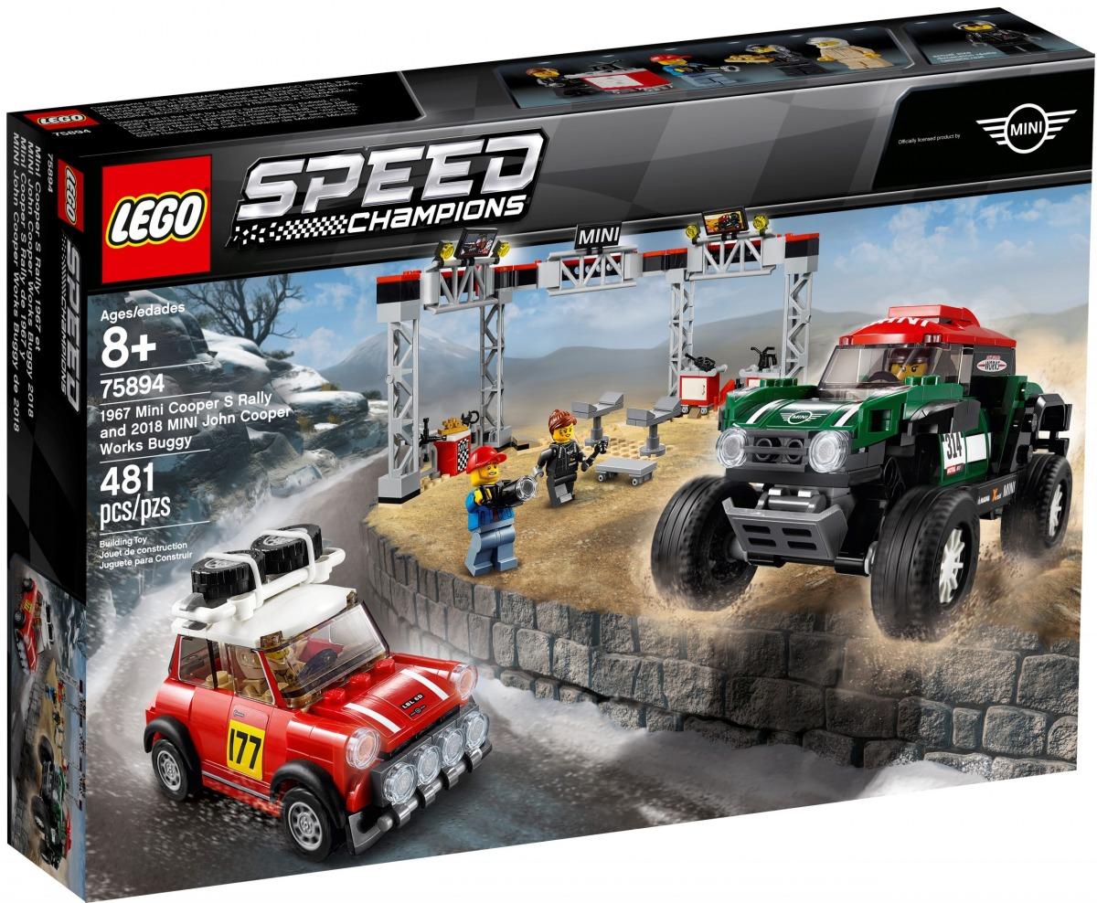 lego 75894 1967 mini cooper s rally och 2018 mini john cooper works buggy scaled