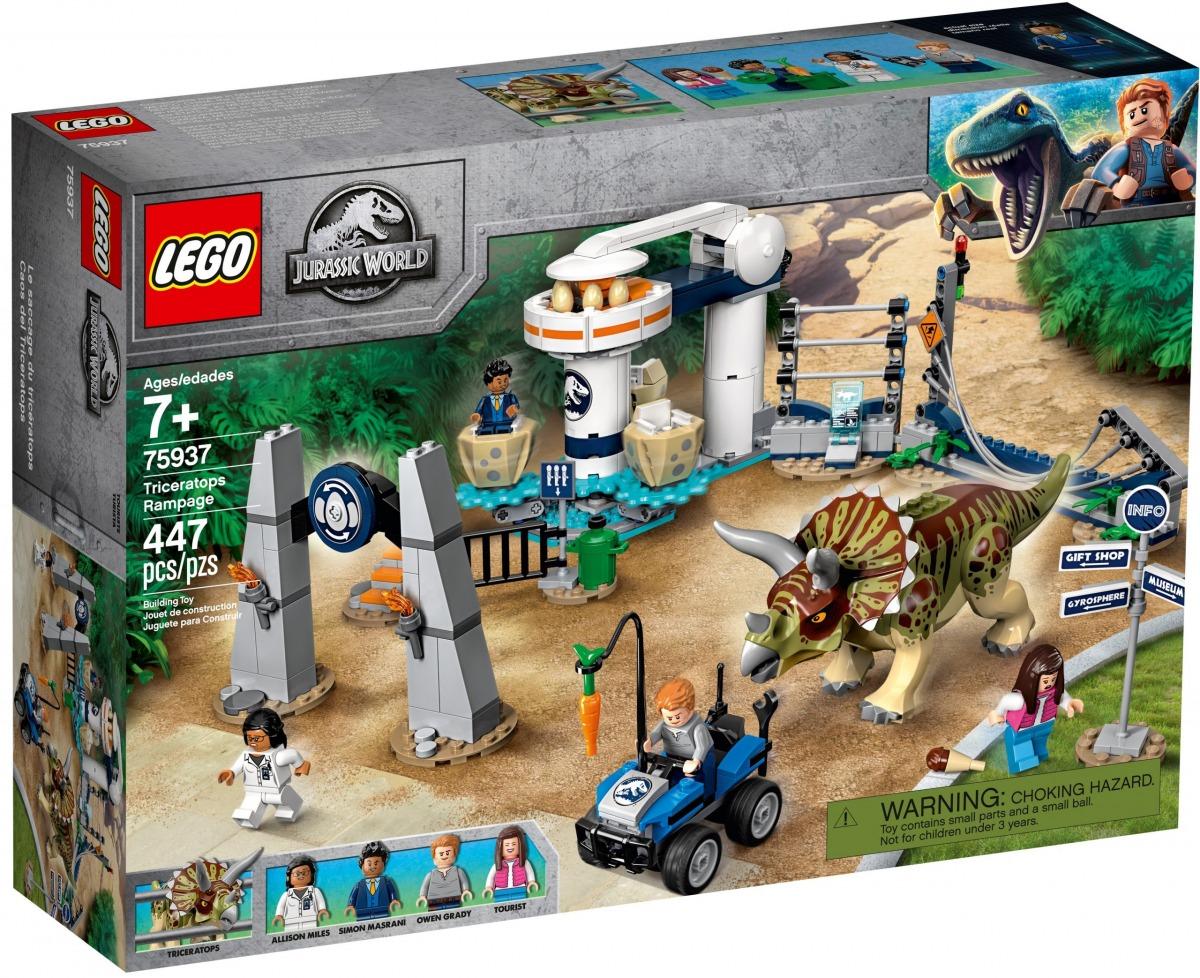 lego 75937 rasande triceratops scaled