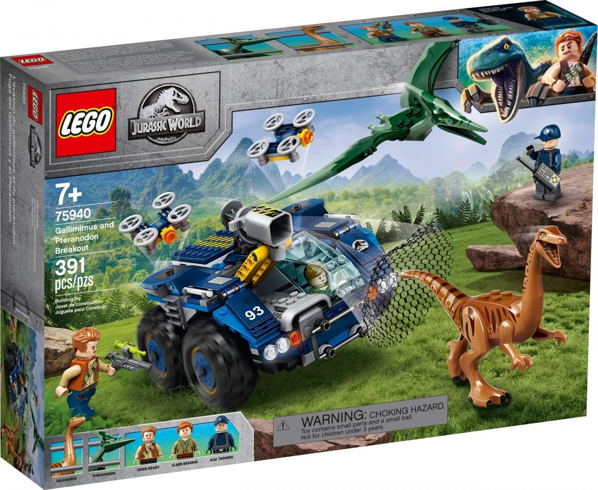 lego 75940 gallimimus och pteranodon rymmer scaled