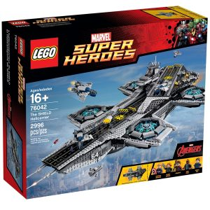 lego 76042 shield helicarrier