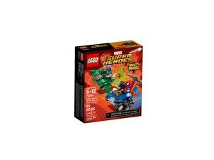 lego 76064 maktiga mikromodeller spindelmannen mot green goblin