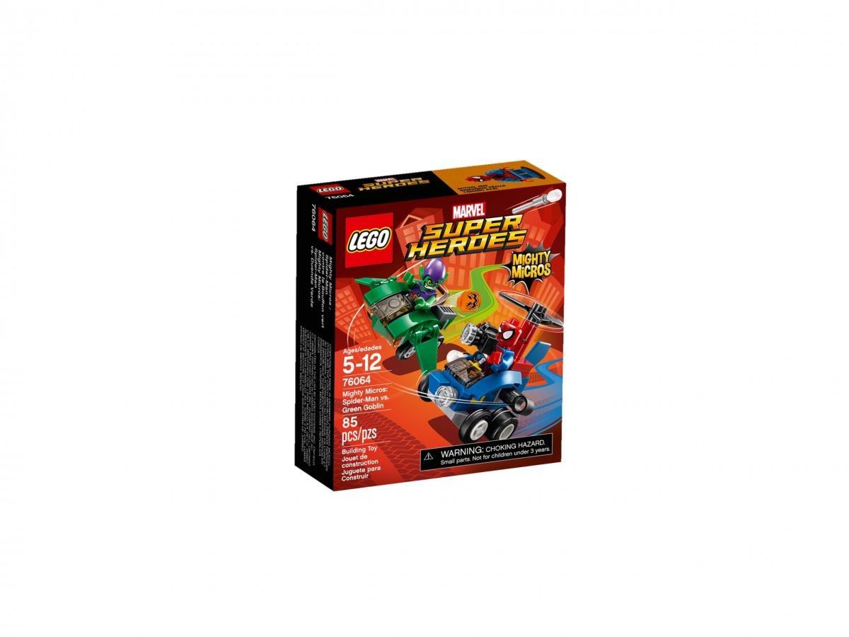 lego 76064 maktiga mikromodeller spindelmannen mot green goblin scaled