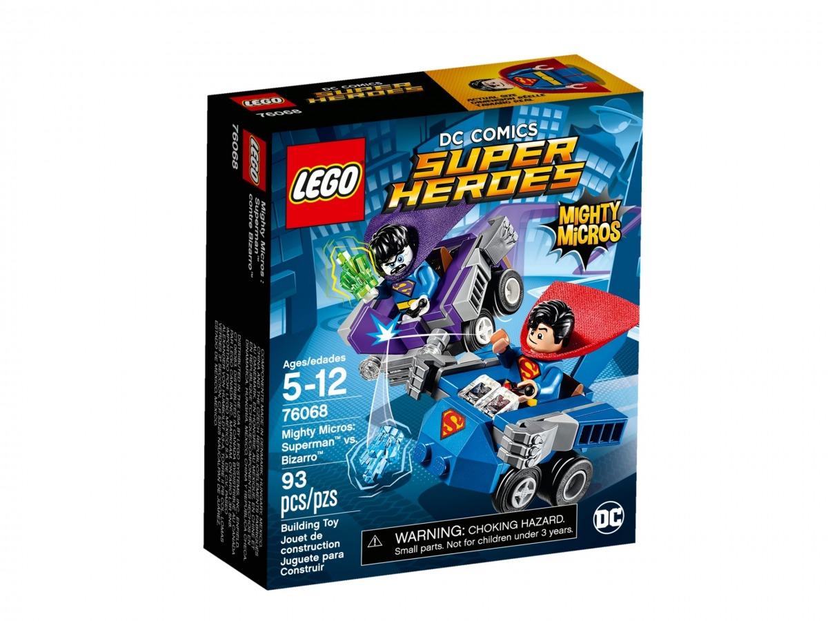 lego 76068 maktiga mikromodeller superman mot bizarro scaled