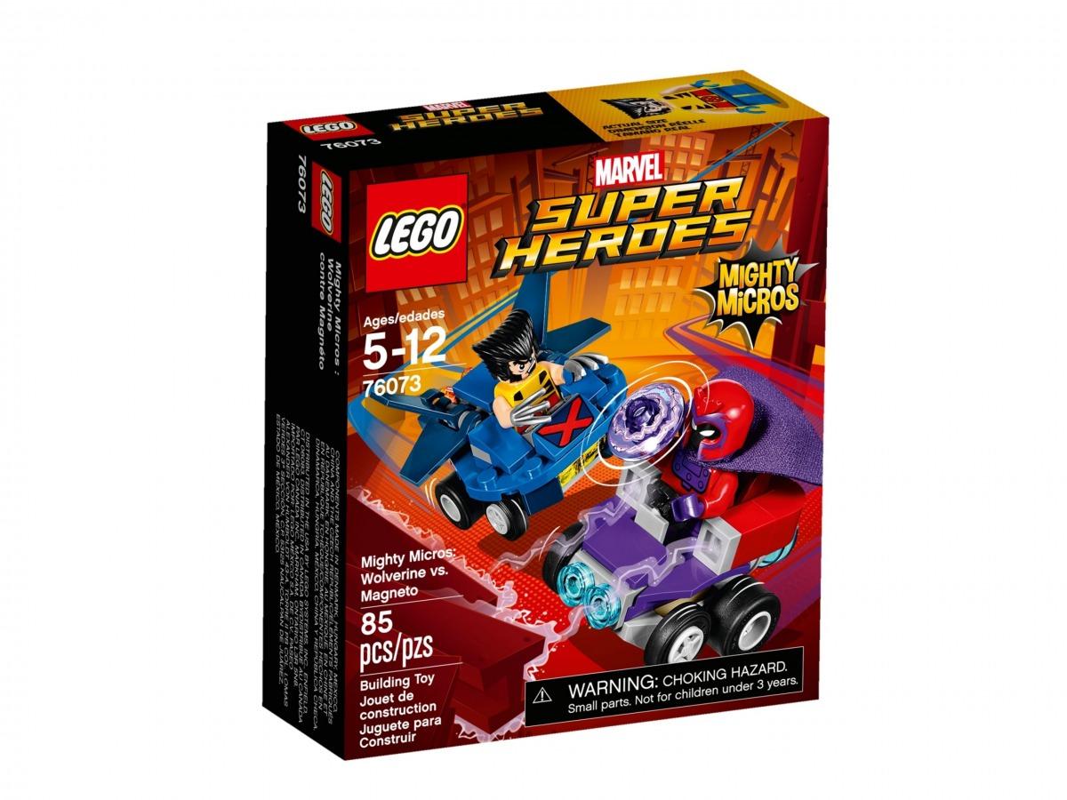 lego 76073 maktiga mikromodeller wolverine mot magneto scaled