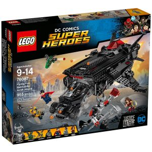 lego 76087 flying fox luftattack med batmobile