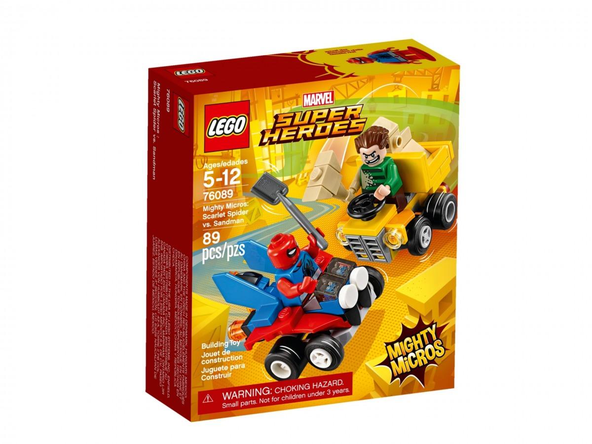 lego 76089 maktiga mikromodeller scarlet spider vs sandman scaled